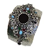 Moroccan Jewelry Womens Berber Bangle Bracelet Hand Made One Size Fits Most