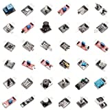 REES52 37IN1 Rsuper Value Ultimate 37 in 1 Sensor Modules Kit for Arduino and Mcu Education User