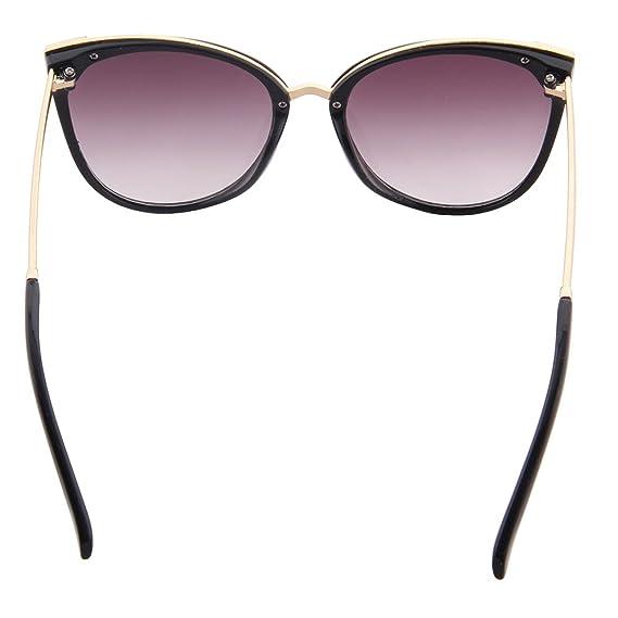 ogobvck les lunettes de soleil uv400 cateye mode moderne miroir (violet) M5XLkgo