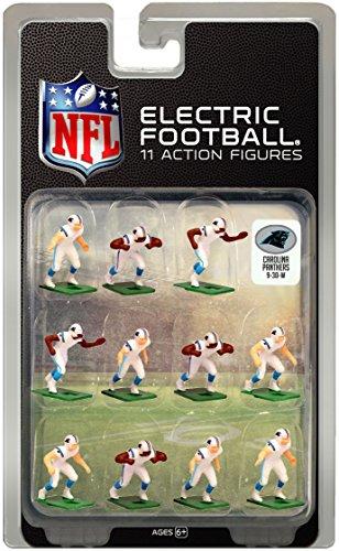Carolina PanthersWhite Uniform NFL Action Figure Set