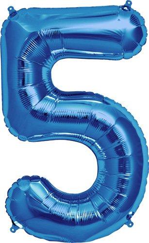 northstar-00129-number-5-foil-mylar-balloon-34-blue