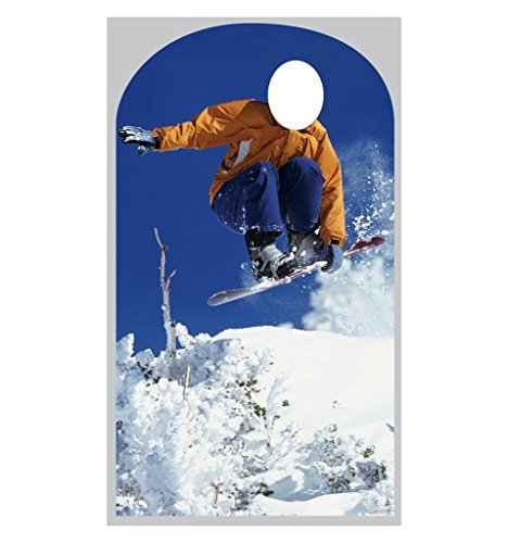 Snowboarder Stand-In - Advanced Graphics Life Size Cardboard - Best Snowboarders
