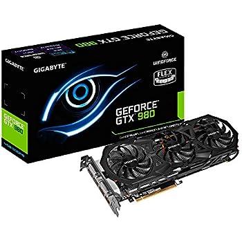 Gigabyte GeForce GTX 980 4GB GDDR5 PCiE Graphics Cards GV-N980WF3-4GD