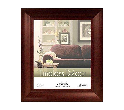 Timeless Expressions Marren Wall Frame, 11 x 14, Cherry - Modern Cherry Frame