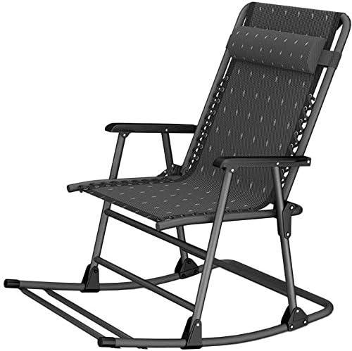 ADHW Reclinable, sillas reclinables Exterior, jardín al Aire Libre Mecedora Silla de relajación, Silla Acolchada un Solo Brazo, Fundas de Cojines sillón reclinable: Amazon.es: Hogar