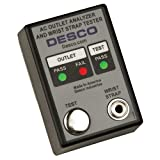 Desco AC Outlet & Wrist Strap Tester - 98132 [PRICE is per EACH]