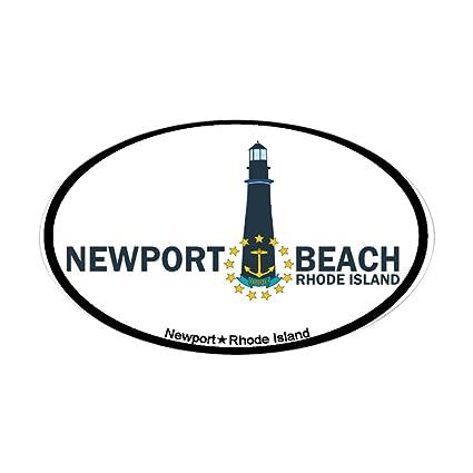 Amazon Com Cafepress Newport Beach Ri Lighthouse Design Sticker