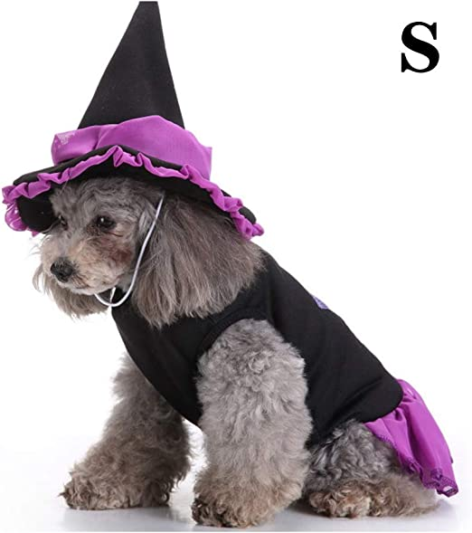 DHQSS Disfraz de Halloween para Perro Disfraz de Halloween para ...