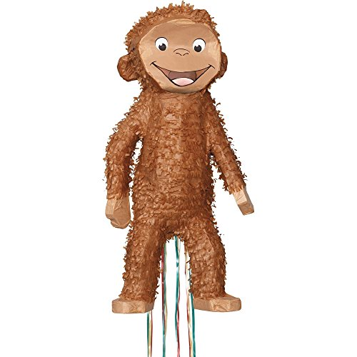 Unique Industries BB009587 Curious George Pinata by Costume (Monkey Pinata)