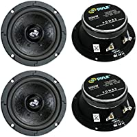4) Pyle Pro PDMR5 5 800W Car DJ/Home Mid Bass MidRange Speakers Drivers Audio