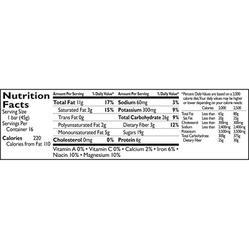 Large Product Image of Larabar Gluten Free Bar, Peanut Butter Chocolate Chip, 1.6 oz Bars (16 Count)