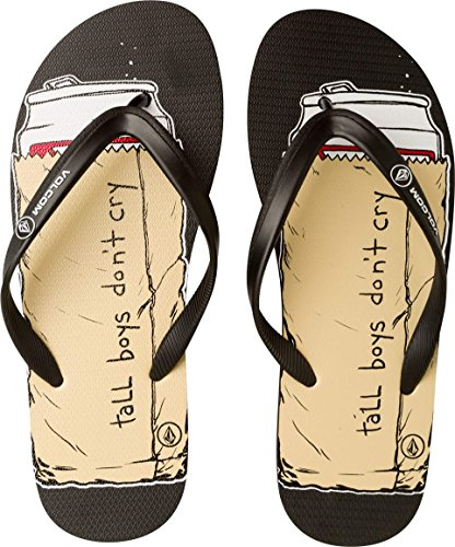 Volcom Menns Vippe Art Sandal 10 D (m)