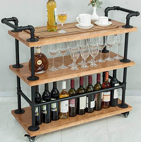 Industrial Bar CartsServing CartsKitchen