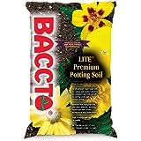 Michigan Peat 1440 Baccto Lite Premium Potting Soil, 40-Quart
