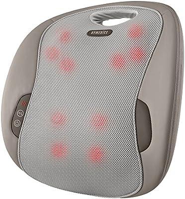 Amazon.com: HoMedics mcsbk ‐ 350H Pro Masajeador de espalda ...