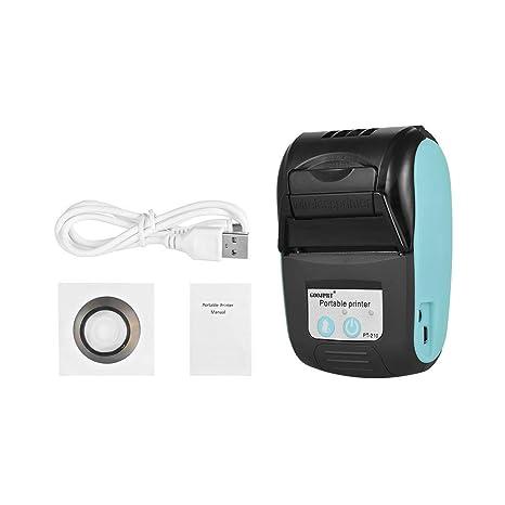 Amazon.com: GOOJPRT PT-210 Impresora térmica portátil de ...