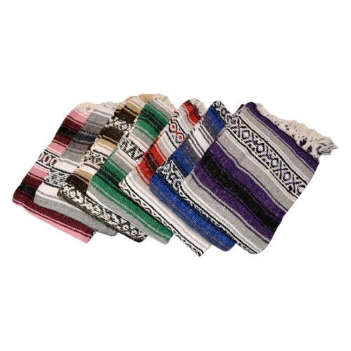 Traditional Yogadirect Deluxe Mexican Pilates Yoga Blanket ...