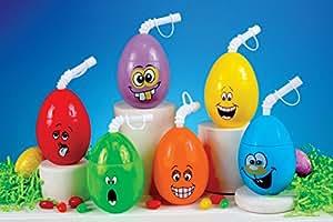 Easter Decorations Basket Fillers Funny Egg Drink Container