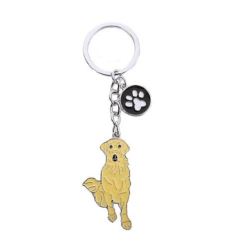 BbearT® - Llavero de identificación para Perro, Llavero ...