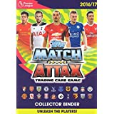 2016/2017 Topps Match Attax English Premier League Soccer Card Official Starter Kit. Official Binder (Album),Play Pitch,Collectors Guide and 6 Cards, Including a HARRY KANE Gold Limited Edition Card