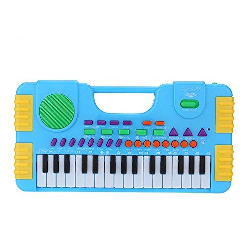 Andoer 31 Keys Multifunction Mini Electronic Keyboard Music Toy Educational Cartoon Electone Gift for Children Kids Babies Beginners