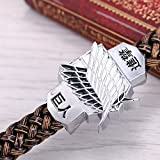 Attack on Titan Bracelet Shingeki No Kyojin Survey Corps TV Alloy Hand Strap