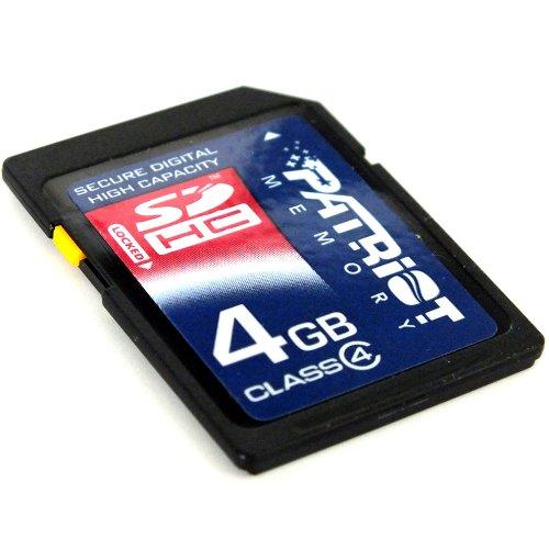 Patriot Signature 4 GB SDHC Class 4 Secure Digital Card P...