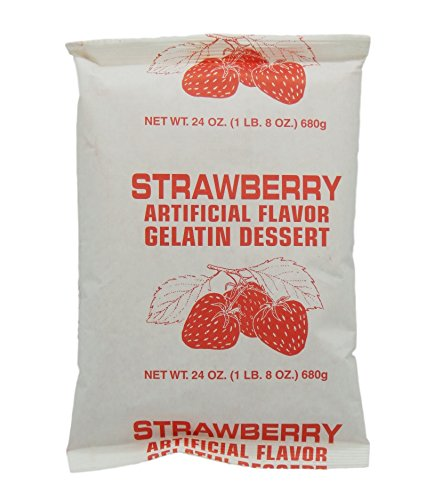 (Instant Gelatin - 1.5 Lb Pouch (Strawberry))