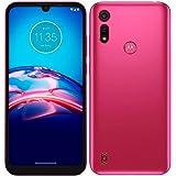 "Smartphone Motorola Moto E6i 32GB Pink - 4G 2GB RAM Tela 6,1"" Câm. Dupla + Selfie 5MP"