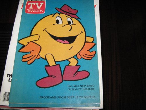 TV Week Magazine (PAC-MAN New Entry On Kid-TV Schedule, September , (Tv Week Magazine)