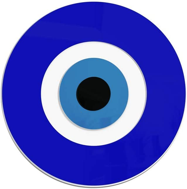 """4ArtWorks - 3D Evil Eye Wall Decor Ornament (12"""" Diameter) 