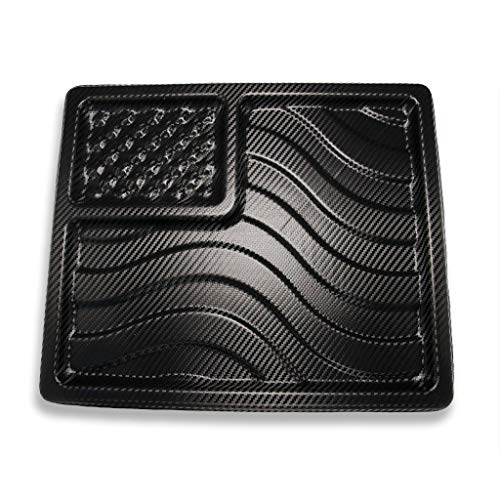 We The People Holsters - American Flag EDC Kydex Dump Tray - Valet Tray for Men - EDC Organizer and Catch-All for Everyday Carry, Keys, Change, Phone (Carbon Fiber)
