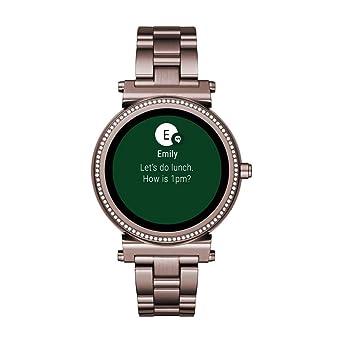 f3debe393 Michael Kors Reloj de Bolsillo Digital Sofie: Amazon.es: Relojes