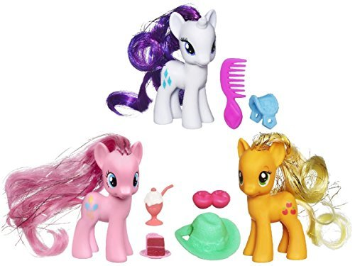 Equestria Girl Applejack Costume (MLP My Little Pony Friendship Is Magic Crystal Empire Wave 2 (Set of 3) - Rarity / Pinkie Pie / Applejack)