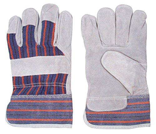 (Big John Leather Work Glove - Contractor Carpenter Construction Glove One)