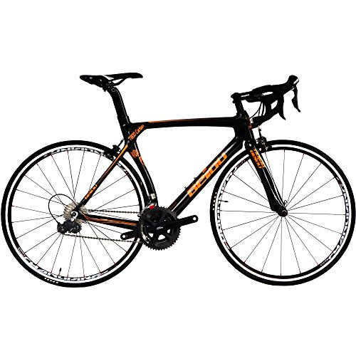 BEIOU 700C 540mm Road Bike Shimano 5800 11S Racing Bicycle T800 Carbon 18.3lb