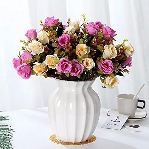 TDLC Emulación Flor Suite Sala de Estar Decorado con Flores Falsas ...
