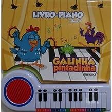 Livro-Piano - Galinha Pintadinha - Vol. 2