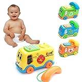 Putars Cute Baby Toys Music Cartoon Bus Phone Educational...