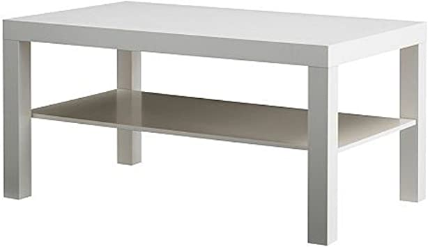 Amazon Com Ikea Lack Coffee Table White Kitchen Dining