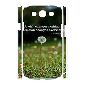 Samsung Galaxy S3 I9300 Phone Case With Dandelion S2B22235