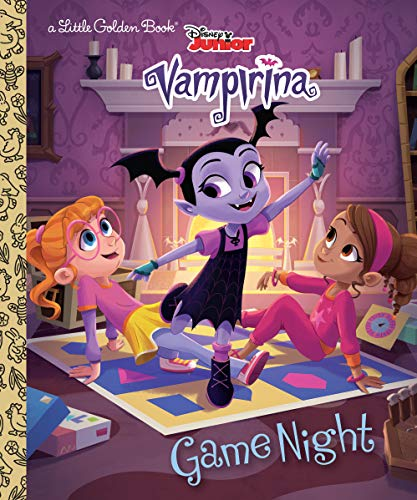 Game Night (Disney Junior Vampirina) (Little Golden -