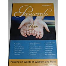 Passwords - Passing on Words of Wisdom and Hope Volume 1