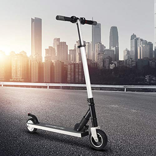 Foerteng-us Electric Scooter with Shock Absorbers,4.0Ah, 18650 14series Battery, Foldable Adult Electric Scooter,Up to 23km/h,6.0inch Commuting Scooter for People by Foerteng-us (Image #4)