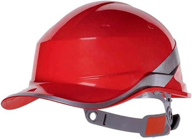 Sooiy Casco de Seguridad en el Trabajo Trabajadores de la construcción, Casco de Seguridad Industrial, Casco de Trabajo, la construcción del Casco Sombrero Duro Cascos Protectores,Rojo: Amazon.es: Hogar