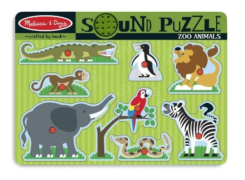 Zoo Animals Sound Puzzle - 7