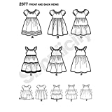 Simplicity Learn To Sew Patterned Girl's Dress