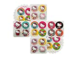 Hello Kitty Party Theme Favors - 18 sheets 72 Count