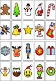 Christmas Letter Pack for A4 Light Box with 20 Colourful Symbols