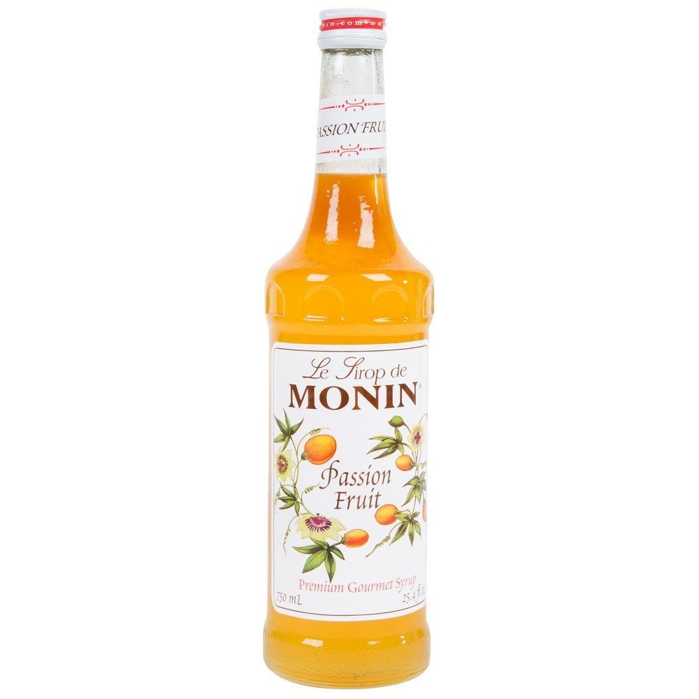Monin Passion Fruit Syrup 750ml (25.4oz)